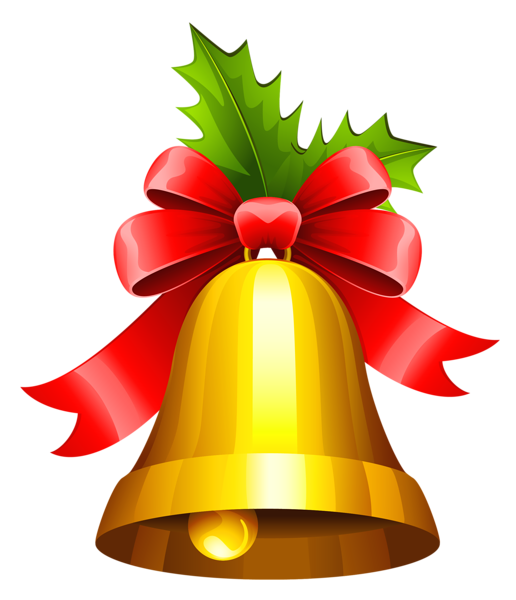 banner free Christmas bell transparent png. Bells clipart holiday craft.