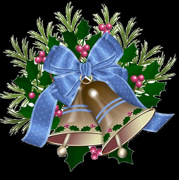 clipart transparent download Mes tubes no l. Bells clipart holiday craft