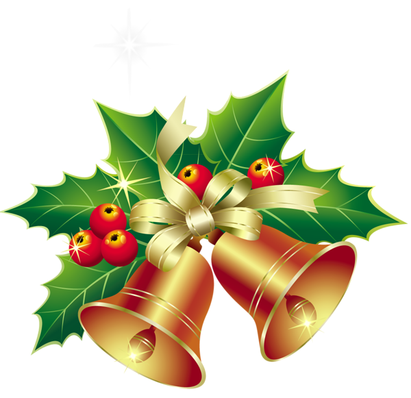picture royalty free download Bells clipart holiday craft. Christmas with mistletoe ornament