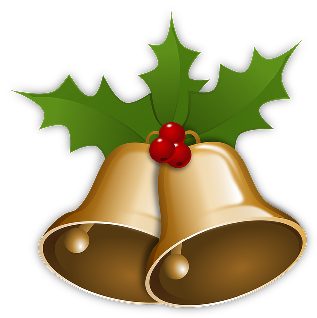 png freeuse library Bells clipart holiday craft. Free image on pixabay