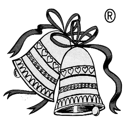 banner black and white library Bells drawing country. Atc digital seamless user