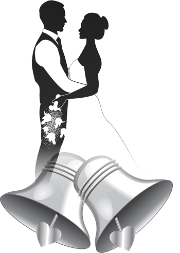 jpg freeuse library Wedding at getdrawings com. Bells drawing marriage