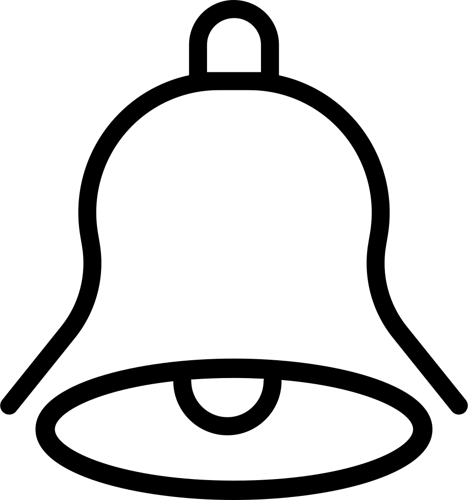 vector library stock Bells drawing outline. Bell svg png icon