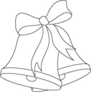 stock Free bell cliparts download. Bells drawing outline