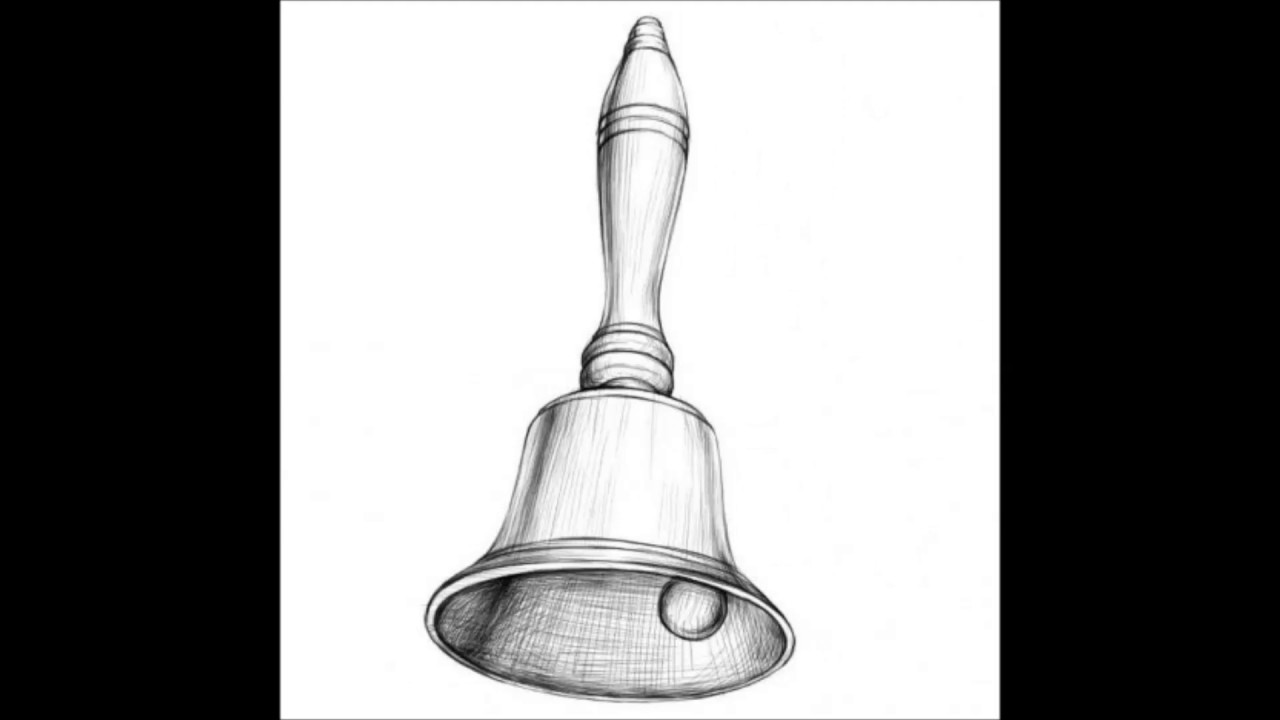 image free download Bells drawing sketch.  for free download
