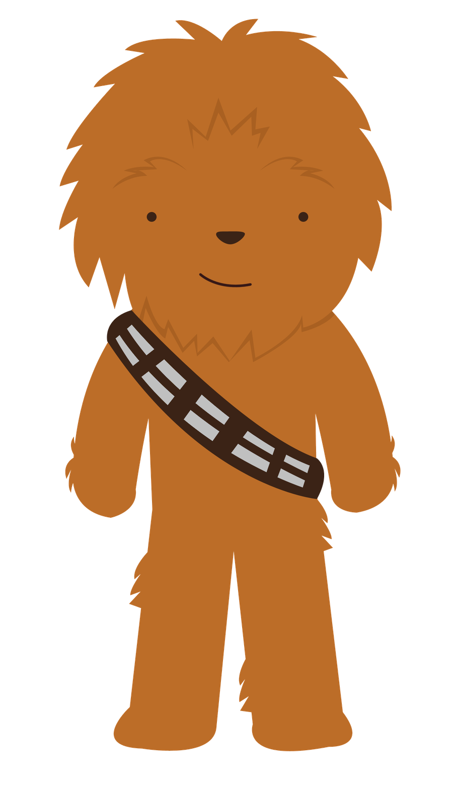 png freeuse download Star wars minus papusi. Chewbacca clipart cute.