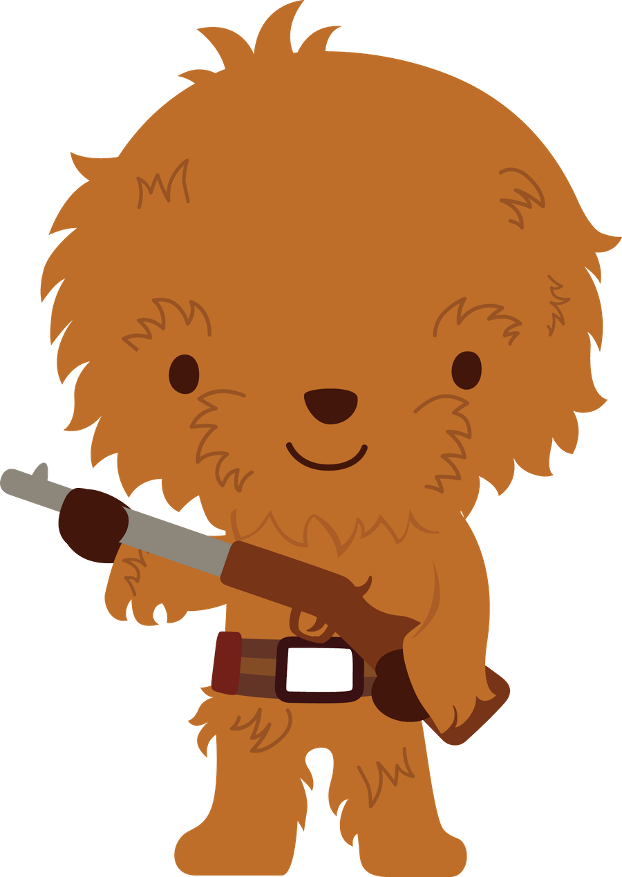 png free stock Galaxy wars animados pinterest. Chewbacca clipart ewok