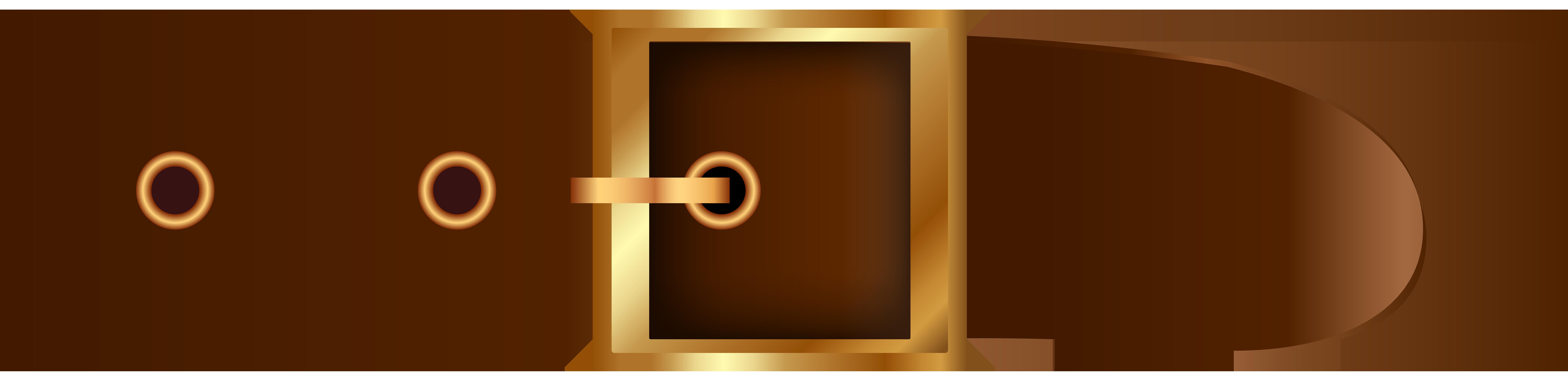 jpg library stock Brown png clip art. Belt clipart