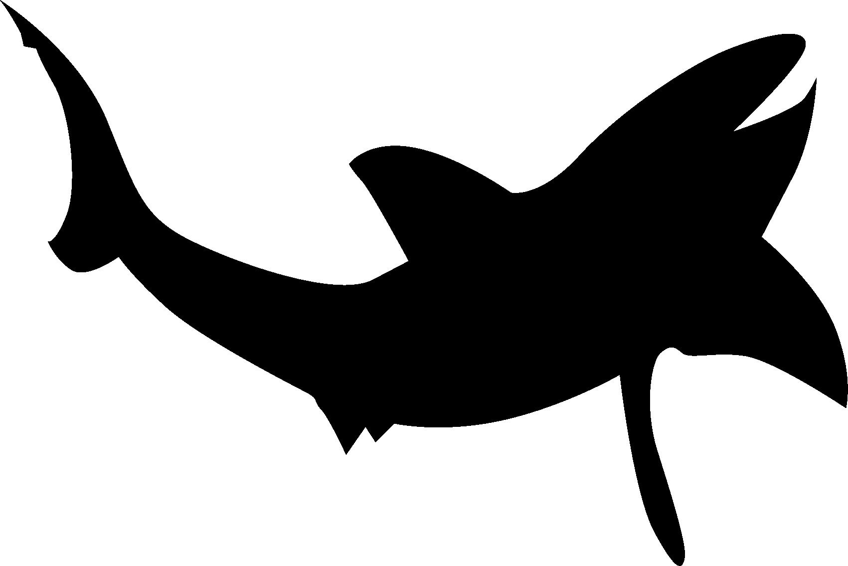 banner transparent stock Shark silhouette clip art. Beluga whale clipart
