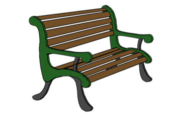 picture freeuse Bench clipart. Free cliparts download clip