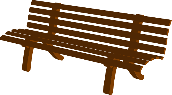 clipart transparent Bench clipart. Free .