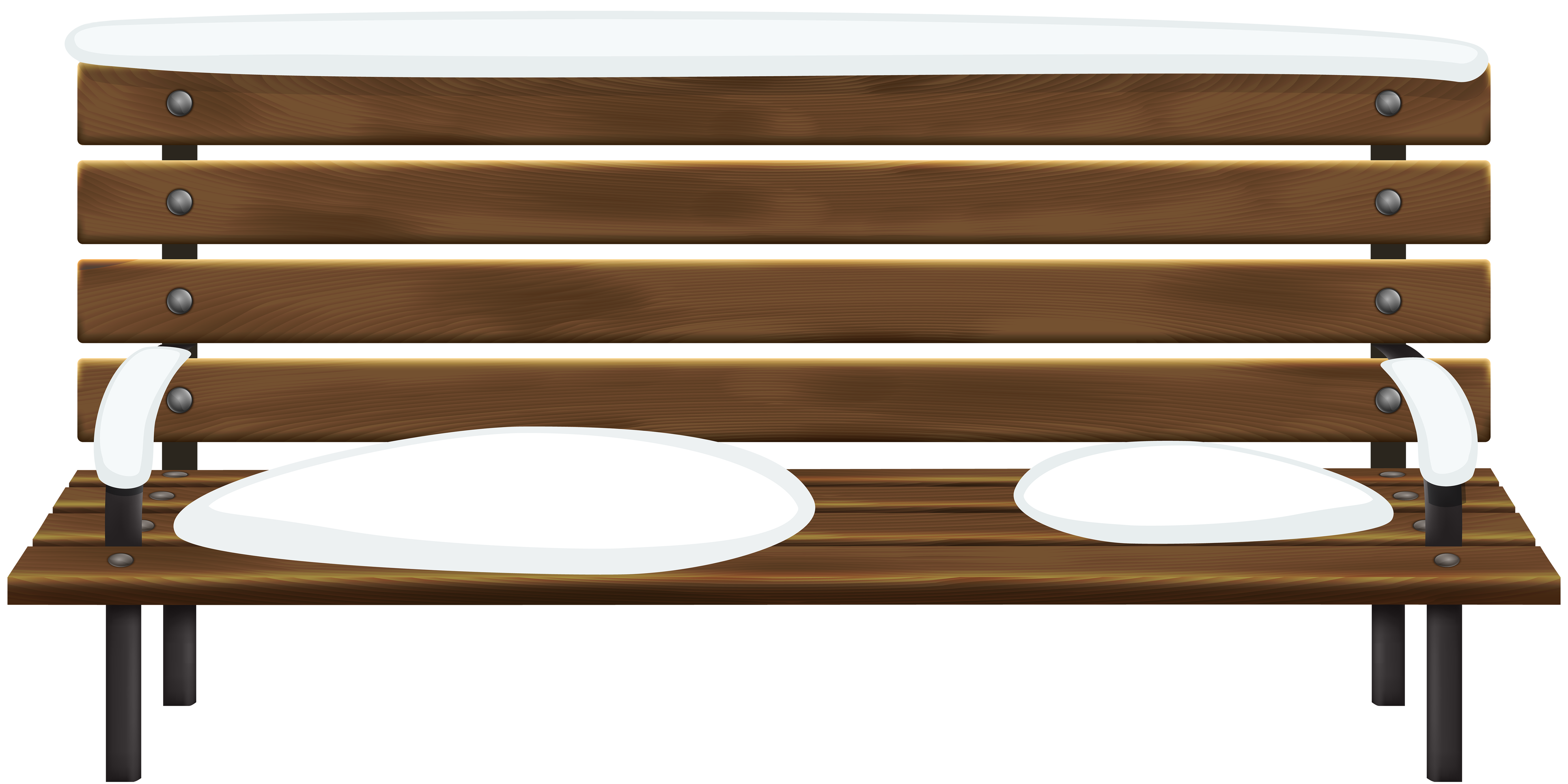 freeuse download Winter png clip art. Bench clipart