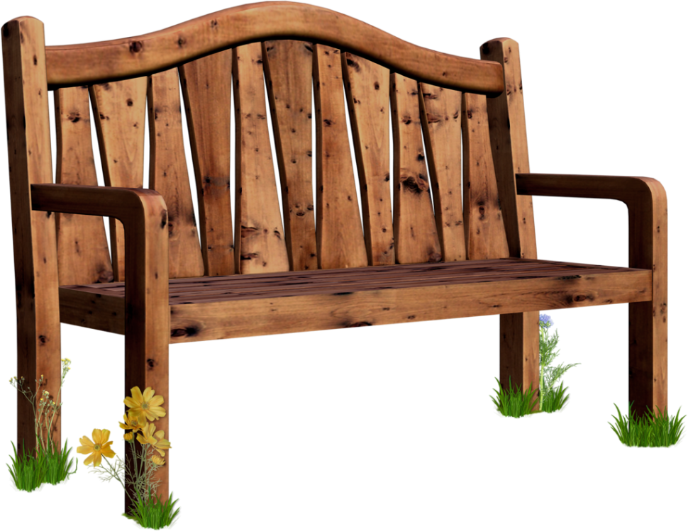 jpg black and white download wooden clipart garden seat #53597668