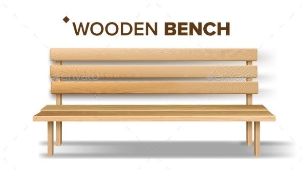 vector transparent download Bench vector. Design classical handicraft wooden.