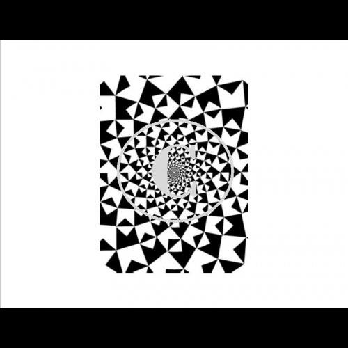 black and white Eye Bender