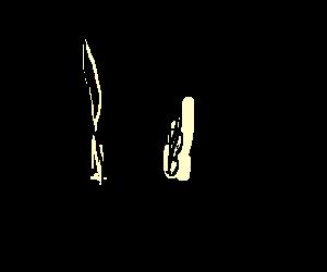 image black and white stock Blending bender