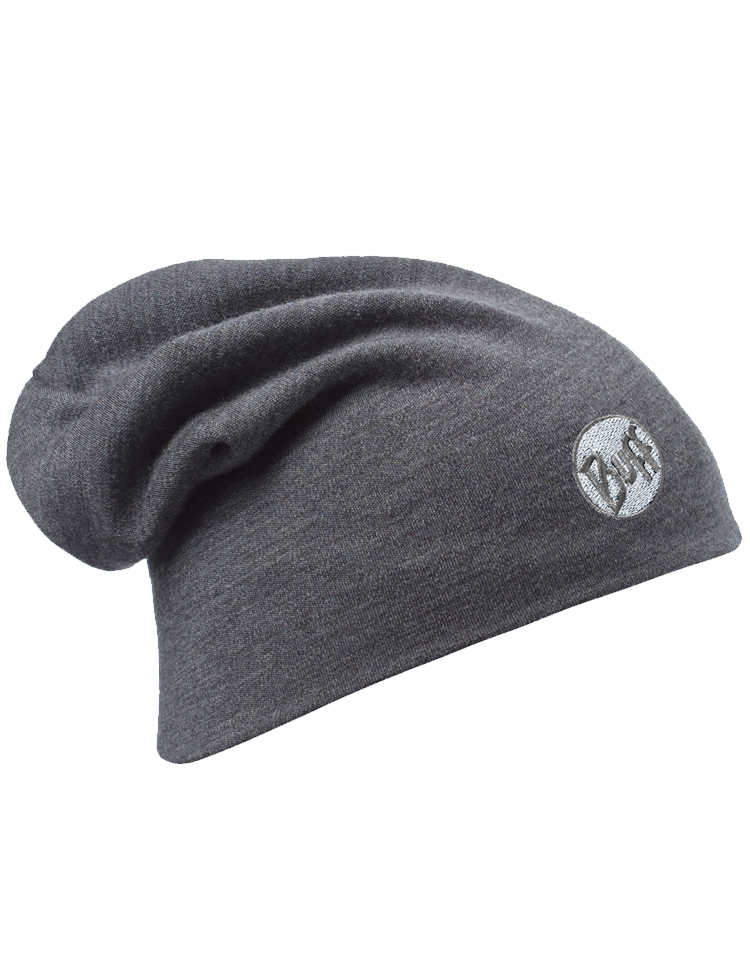 clipart black and white download Merino Wool Thermal Hat Grey