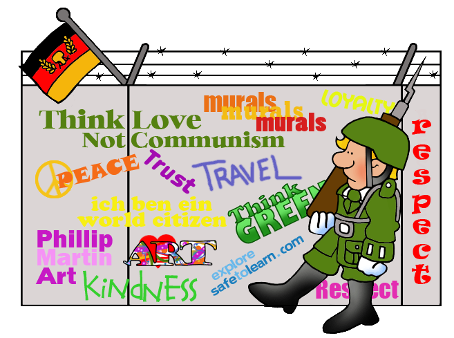 banner freeuse Architecture clip art by. Berlin wall clipart.