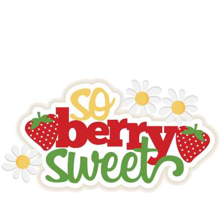 freeuse download Berries clipart cute. So berry sweet svg