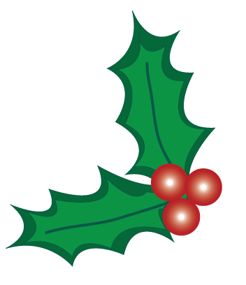 svg library download christmas holly clipart black and white #58988728