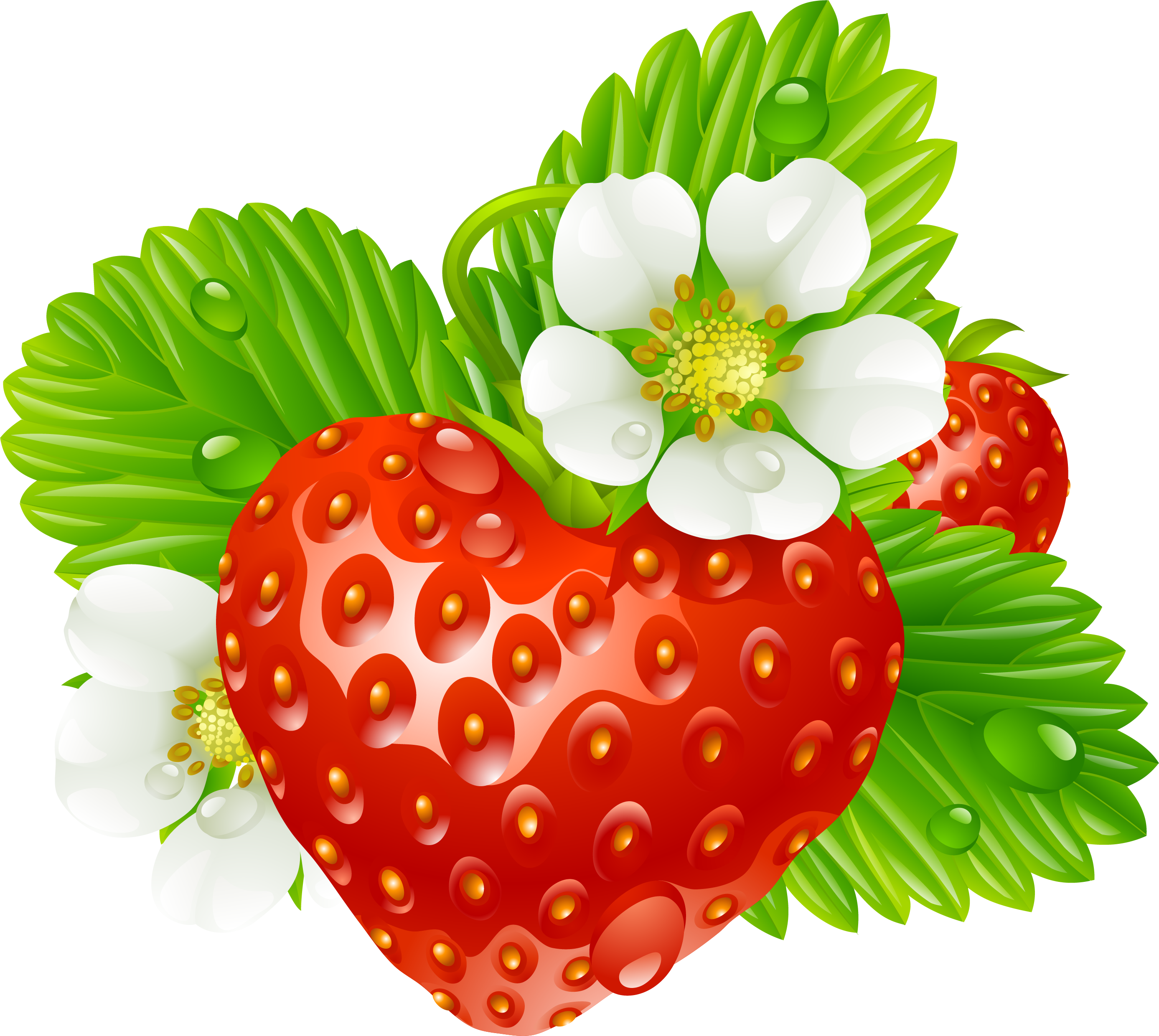 picture freeuse Strawberry Tea Clip art