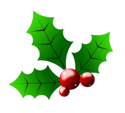 clip transparent download Free clip art holly. Berry clipart christmas.