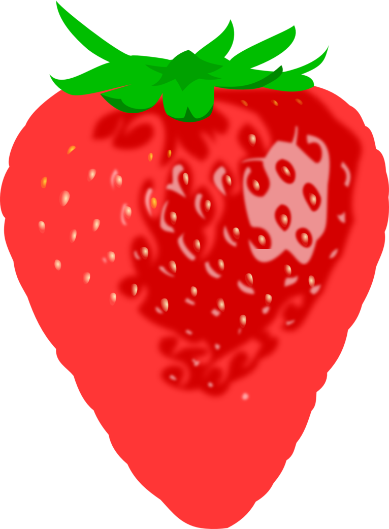 svg freeuse download Drawing strawberries heart. Strawberry not ready by
