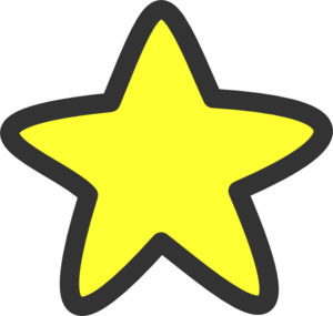 svg freeuse library Yellow Stars Clipart