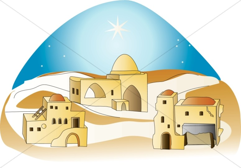 clip art transparent Bethlehem clipart. Nativity .