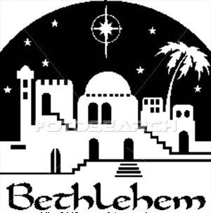 jpg royalty free Bethlehem clipart. Ancient city .