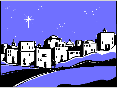 clip library library  collection of town. Bethlehem clipart.