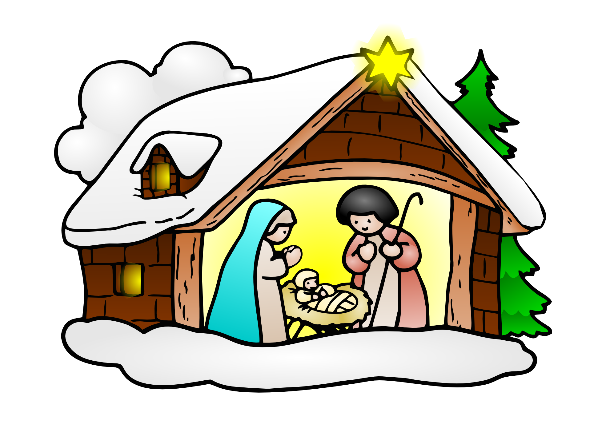 transparent download Free jesus birth download. Epiphany clipart christmas