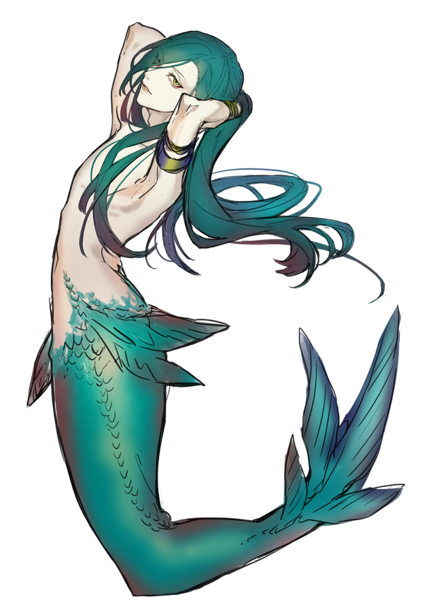 banner royalty free Image result for male mermaids anime