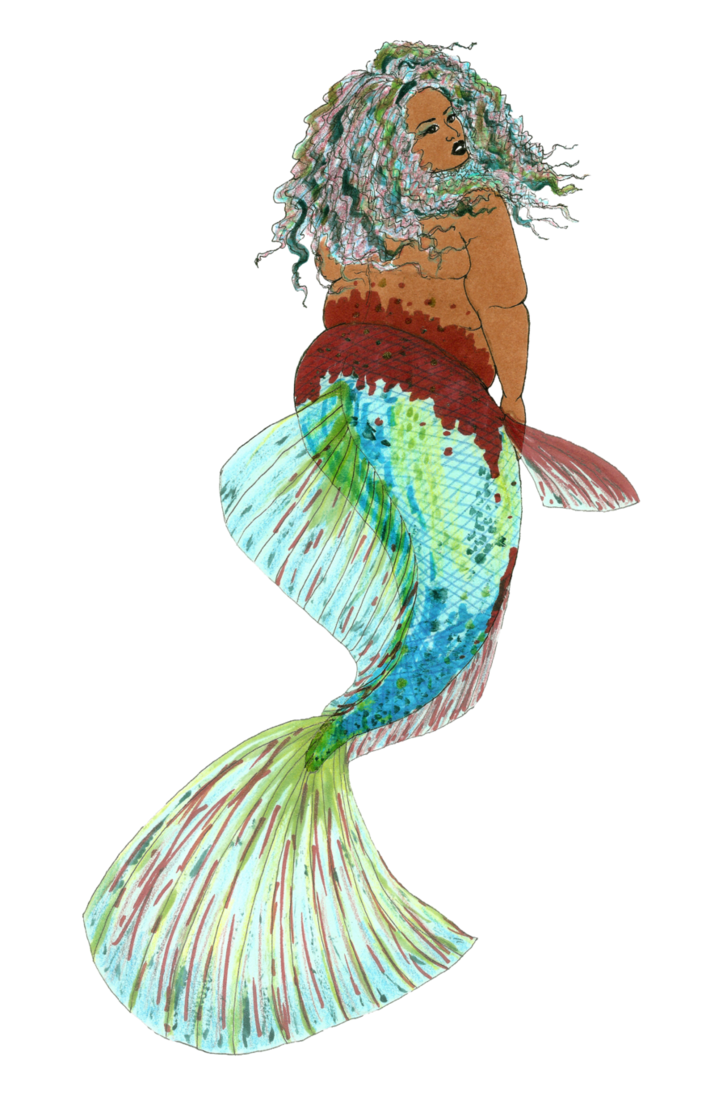 image royalty free stock Transparent Betta Mermaid by MommaCabbit on DeviantArt