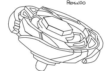 free Beyblade drawing base. By remix on deviantart