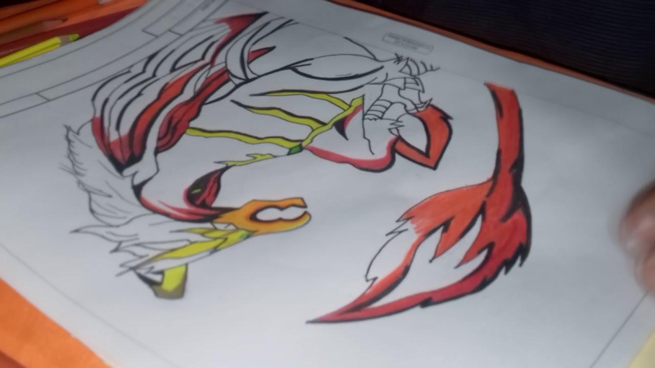 royalty free download Speed dranzer . Beyblade drawing dragon