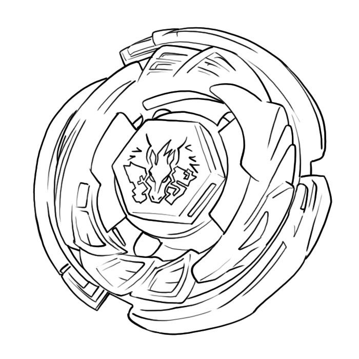 svg free library Beyblade drawing pegasus. Free printable coloring pages
