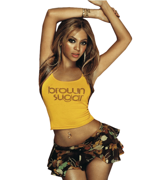 jpg black and white download Beyonce transparent. Brown sugar png stickpng