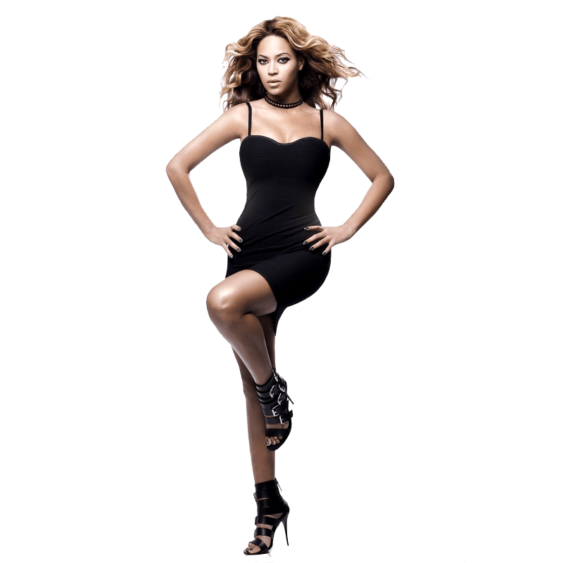 image library stock Beyonce transparent. Standing png stickpng download