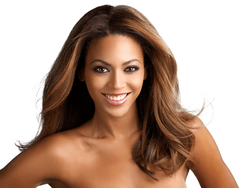 graphic black and white stock Beyonce transparent background. Smiling png stickpng music