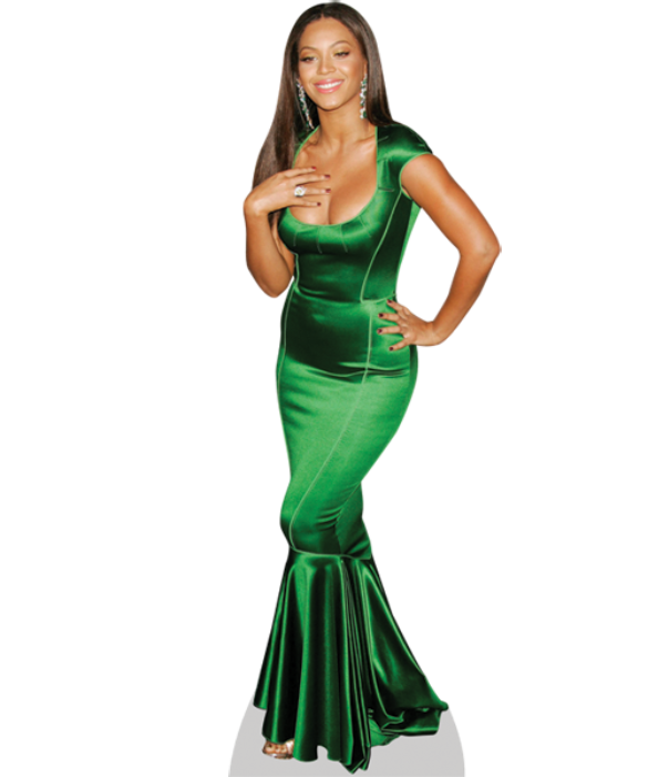 svg royalty free Beyonce Knowles celebrity cutout