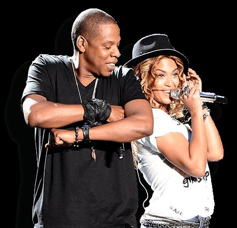 picture stock Parceria de sucesso novamente. Beyonce transparent jay z