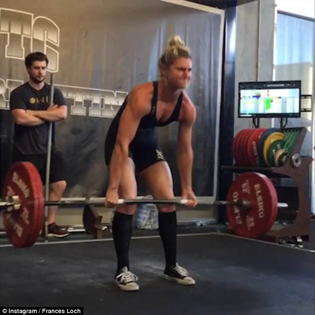 graphic free Frances loch shows off. Beyonce transparent powerlifting