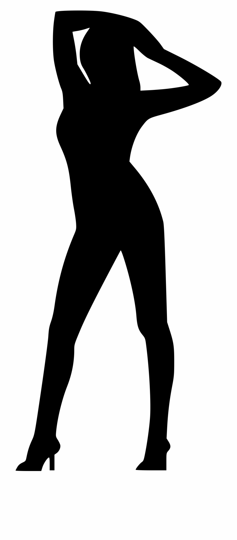 png black and white library Png image stock naked. Beyonce transparent silhouette