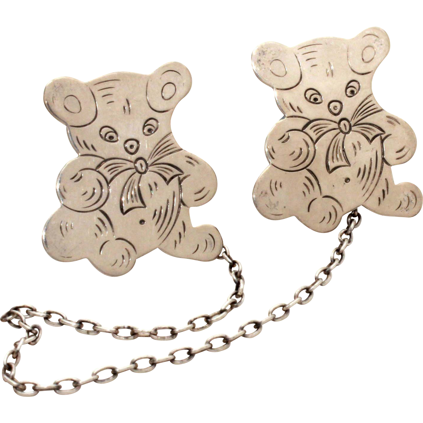 vector transparent download Sterling teddy bear baby. Bib clip mitten