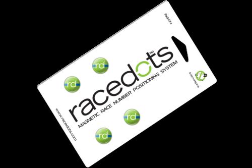 vector royalty free Magnetic holders racedots running. Bib clip race