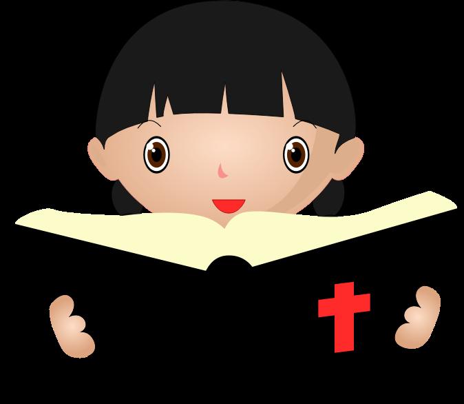 picture transparent stock Reading study clip art. Bible clipart.