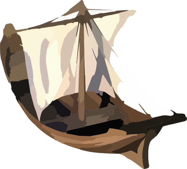 vector free library Fishing biblical free on. Bible clipart boat.