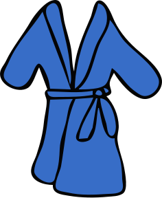 image freeuse Biblical of a . Bible clipart robe