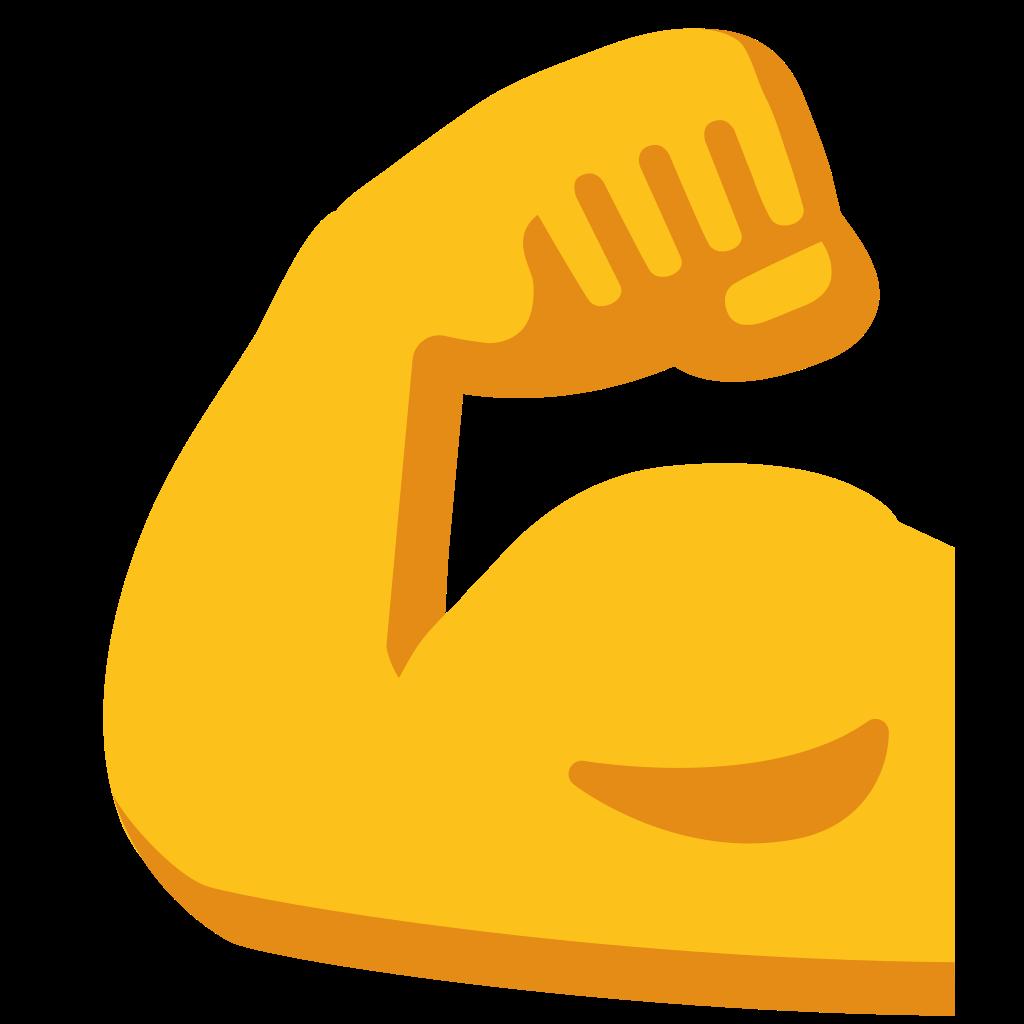 svg stock vector emojis strength #107790955